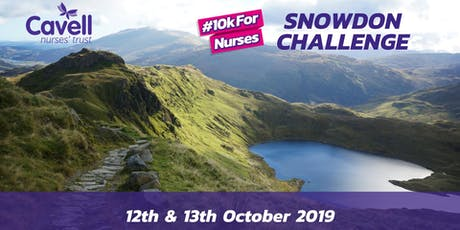 #10kForNurses Snowdon Challenge tickets