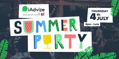 iAdvize July 4th Summer Garden Party! tickets