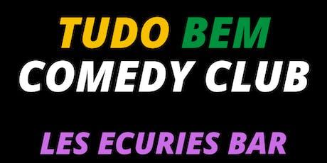 Tudo Bem Comedy Club #1 // HUMOUR, STAND-UP billets