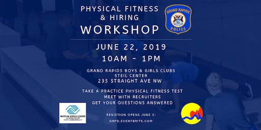 Grand Rapids Police Department Physical Fitness and Hiring Workshop