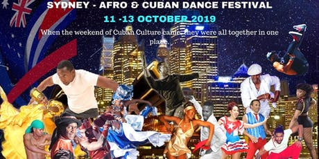 Sydney Afro and Cuban Dance Festival tickets