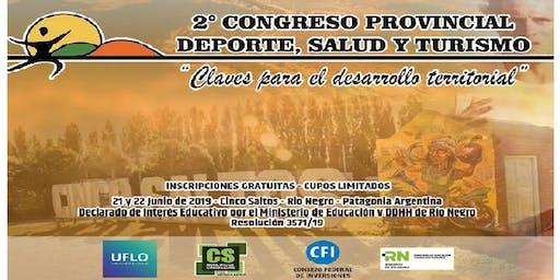 2° Congreso Provincial de Deporte, Salud y Turismo