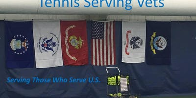 Tennis Serving Vets-July 11th at Anthony F. Veteran Park Tennis Courts at 6:30pm