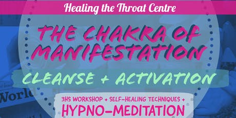 Raise your words, not your voice: Throat Chakra Activation tickets