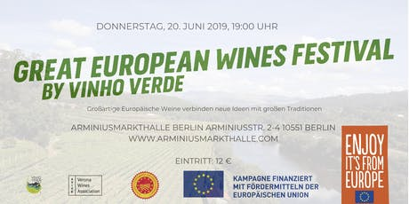 GREAT EUROPEAN WINES FESTIVAL Tickets