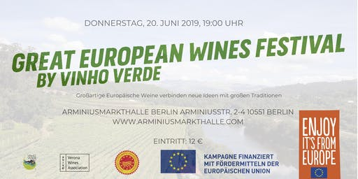 GREAT EUROPEAN WINES FESTIVAL
