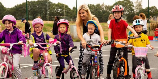 Consett Cycling Festival - Ready Set Ride - Balance Bike Drop In