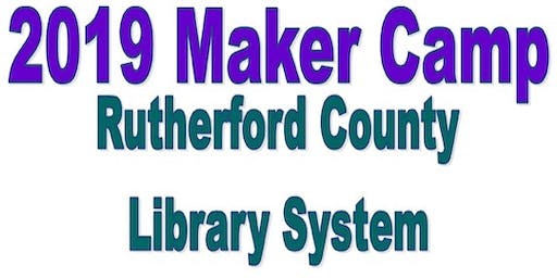 Maker Camp @ County Library
