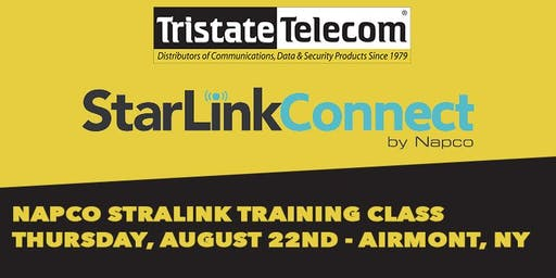 (AIRMONT) Napco Starlink Radios Training Class, August 22nd 2019