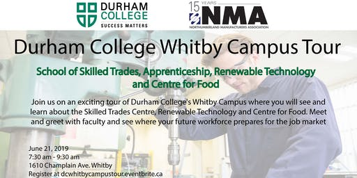 DC Whitby Campus Tour -School of Skilled Trades, Apprenticeship