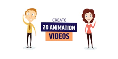 2D Animation Basics - Power of Visual Story Telling - (For  11-14 year Old) tickets