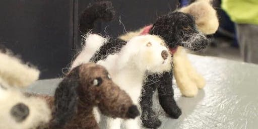 Felt your Dog-3D animal workshop