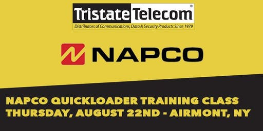 (AIRMONT) Napco Quickloader Software Training Class, August 22nd 2019