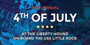 Liberty Hound's Annual Fourth of July Party aboard the...