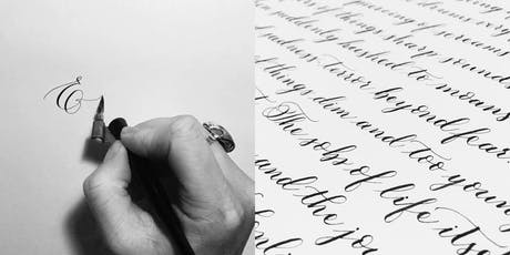 Modern Calligraphy & Brush Lettering 2-Day Course tickets