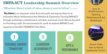 IMPAACT LEADERSHIP & ARTS Summit tickets