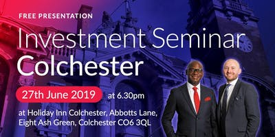 Colchester Investment Seminar on Buy2LetCars