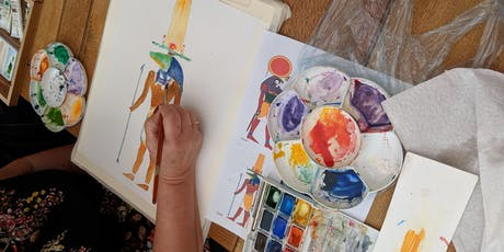 Watercolour Painting Skill Share and Open Studios tickets