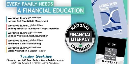 Financial Education - Tuesday Workshop