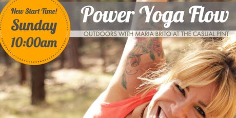 Power Yoga on the Deck at The Casual Pint Huntsville tickets