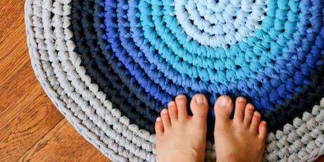 Crochet T-shirt Rug Workshop tickets