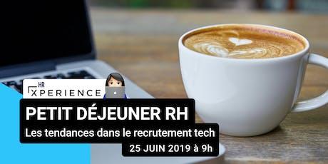 Petit-Déjeuner RH - les tendances dans le recrutement tech billets