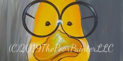 Just Ducky Paint Class