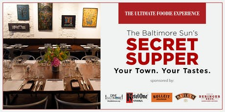 The Baltimore Sun's Secret Supper tickets