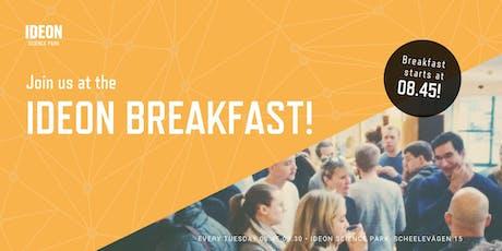 Ideon Breakfast tickets