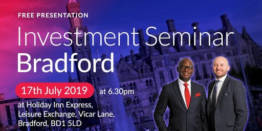 Bradford Investment Seminar on Buy2LetCars