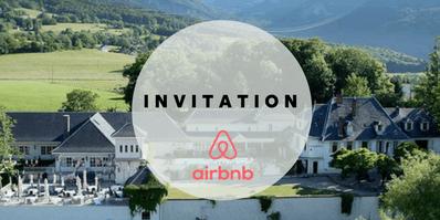 Invitation Airbnb - Arkiane
