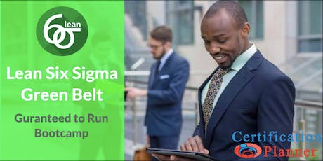 Lean Six Sigma Green Belt with CP/IASSC Exam Voucher in Mississauga(2019) tickets