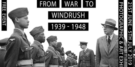 From War to Windrush Photographic and Art Exhibition tickets
