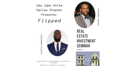 UIU Dallas Presents: Flipped The Investment Seminar tickets