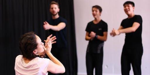 Autumn Term 2019 - Goldsmiths Intensive Weekend Musical Theatre Course