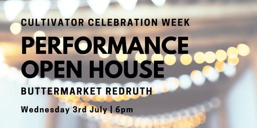Cultivator Celebration Week: Performance Open House!