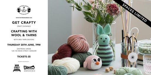 Get Crafty - Crafting With Wool & Yarns at Søstrene Grene, Bangor