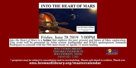 Into the Heart of Mars tickets