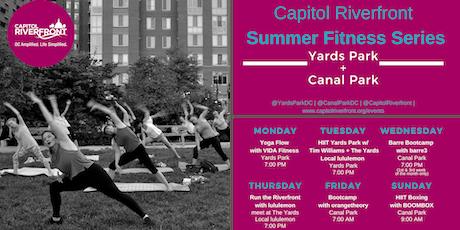 Capitol Riverfront Summer Fitness Series: Yoga w/ VIDA Fitness tickets