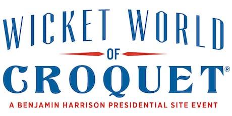 Wicket World of Croquet 2020 tickets