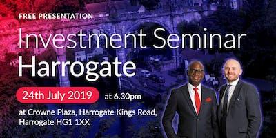 Harrogate Investment Seminar on Buy2LetCars