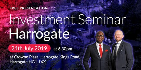 Harrogate Investment Seminar on Buy2LetCars tickets