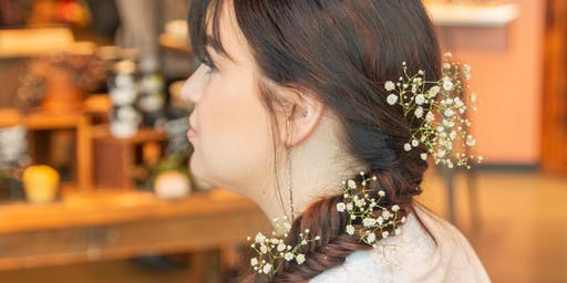 Lush Spa Birmingham's Summer Solstice Floral Hair Styling