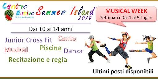 CENTRO ESTIVO SETTIMANA MUSICAL 10-14 anni. Prenotazione gratuita