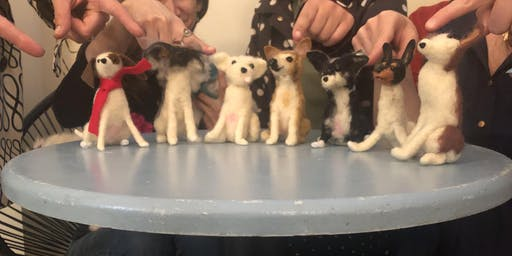 Learn Needle Felting with Linda Facci & Make Your Own Felted Dog!