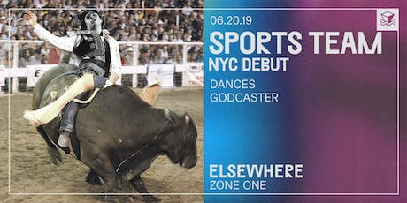 Sports Team (NYC Debut) @ Elsewhere (Zone One) tickets