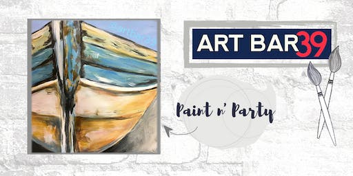 Paint & Sip | ART BAR 39 | Public Event | Lake Life Boat