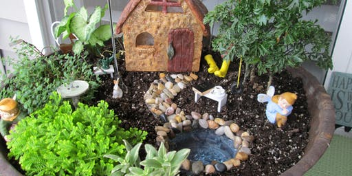 Family Fairy/Dino Gardens Workshop
