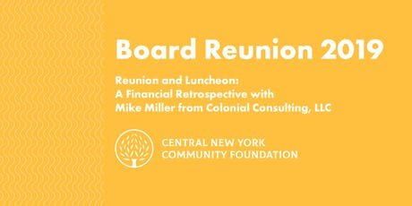Board Reunion & Luncheon 2019 tickets