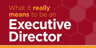 What It Really Means to Be an Executive Director
